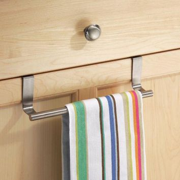 23cm Towel Bar Towel Holder Stainless Steel Bathroom Hotel Shelf Rack Tower Holder Hanger