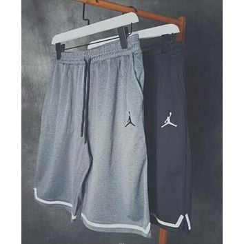 Jordan Trending Women Men Embroidery Print Drawstring Sport Stretch Pants Shorts Sweatpants I-AA-XDD