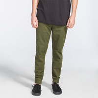 Rvca House Arrest Mens Jogger Pants Military  In Sizes