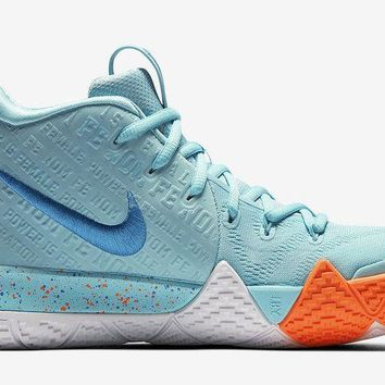 """[ Free  Shipping ] Nike Kyrie 4 """"Power is Female""""  Running Sneaker"""