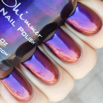Pigment Of My Imagination Multichrome Color Shifting Nail Polish-  0.5 oz Full Sized Bottle