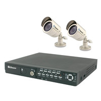 Swann Indoor/Outdoor Security System 320GB DVR & 2 Night Vision Cameras