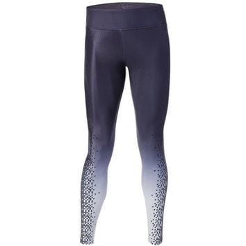 Casual Houndstooth Print Ombre Yoga Pants