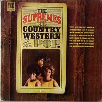 The Supremes - Sing Country Western & Pop (LP, Album, Mono)
