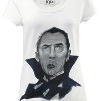 Personalized handpainted t-shirt, Dracula Bela Lugosi Fanart top