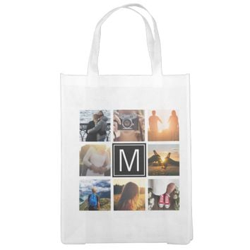 Monogram 8 Frame NGL Grocery Bag