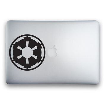 Galactic Empire Logo from Star Wars Sticker for MacBooks and Apple Devices
