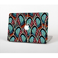The Intense Colorful Peacock Feather Skin Set for the Apple MacBook Air 11""