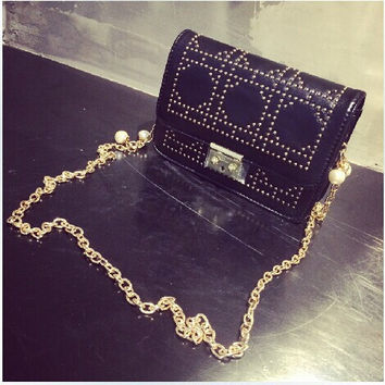 Summer Korean Rivet Chain Bags [8226380167]
