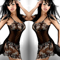 Hot Deal On Sale Cute Sexy Exotic Lingerie [6596977091]