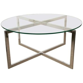 Pre-owned 1960s Milo Baughman Style Coffee Table