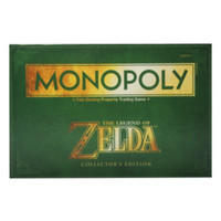 The Legend Of Zelda Monopoly Game