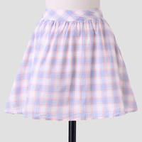 West Campus Plaid Skirt