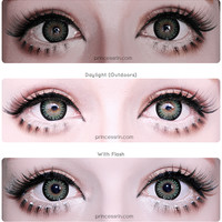 geo princess mimi apple green EyeCandy's Circle Lens Cosmetic Coloured Contacts