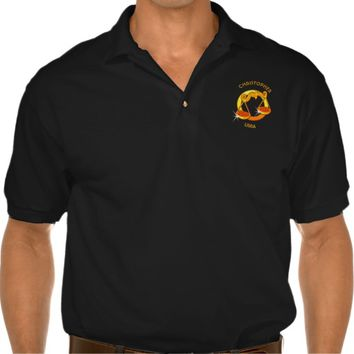 Libra Zodiac Birthday Sign With Your Custom Name Polo Shirt