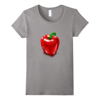 Big Bell Pepper t-shirt Salad Food Vegetable Garden