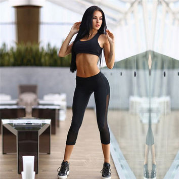 sport suit women clothes for fitness 2 piece hoodie set sweatshirt tracksuit legging female work out sportwear gym clothing 745