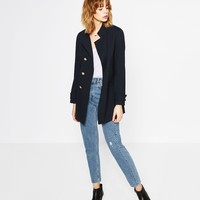 MILITARY FROCK COAT - NEW IN-WOMAN | ZARA United Kingdom