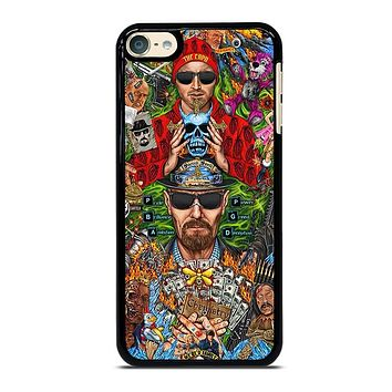 BREAKING BAD MONTAGE iPhone Case