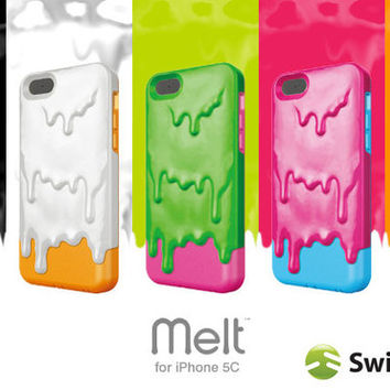 Strapya World : SwitchEasy Melt iPhone 5C Case (Hot Gold)