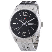 Tommy Hilfiger 1791071 Men's Charlie Classic Black Dial Stainless Steel Watch