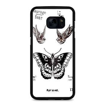 Tattoo Harry Style One Direction Samsung Galaxy S7 Edge Case