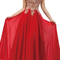 Illusion Prom Dress  DQ9191