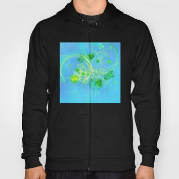 Summer Tree of Life - #Abstract #Art by Menega Sabidussi #society6 Hoody by Menega Sabidussi