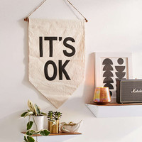 UO X Secret Holiday & Co. Its OK Banner - Urban Outfitters