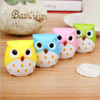 4 pcs Owl Pencil Sharpener