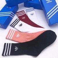 Adidas Woman Cotton Knitwear Socks Stockings
