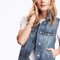 Denim Vest | Old Navy