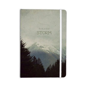 "Robin Dickinson ""Brave The Storm"" Snow Mountain Everything Notebook"