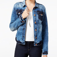 WILLIAM RAST Sussex Two-Tone Denim Jacket - Jackets - Women - Macy's