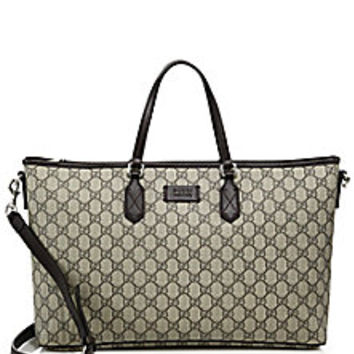 Gucci - Eden GG Supreme Tote - Saks Fifth Avenue Mobile