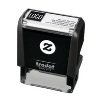 Logo and Company Details Self-inking Stamp