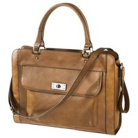 Merona® Cognac Tech Tote - Brown