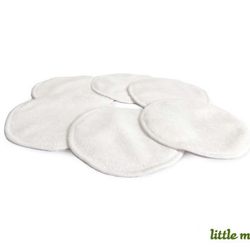 Little Mato Soft Thin Reusable Natural Organic Breast Nursing Pad 6 count