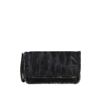 Chain Border Clutch | Loris Shoes