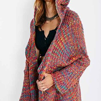 UNIF Raya Hooded Cardigan- Multi