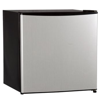 Midea Compact Single Reversible Door Refrigerator with Freezer, 1.7 Cubic Feet