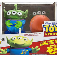 Disney Parks Toy Story Little Green Men Bowling Set Light & Sound New with Box