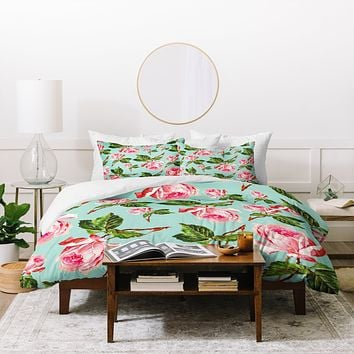 Allyson Johnson Prettiest Roses Duvet Cover