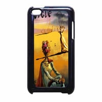 Salvador Dali Woman With Flower Head Vogue iPod Touch 4th Generation Case