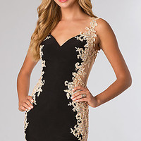 Short Sleeveless JVN by Jovani Dress
