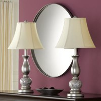Mother of Pearl 2-Piece Lamp Set