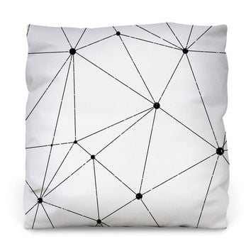Technology Vector Outdoor Throw Pillow