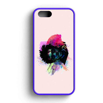 The Weeknd Fan Art Water Colour iPhone 5 Case iPhone 5s Case iPhone 5c Case