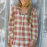 The Brisbane Oversized Flannel Shirt