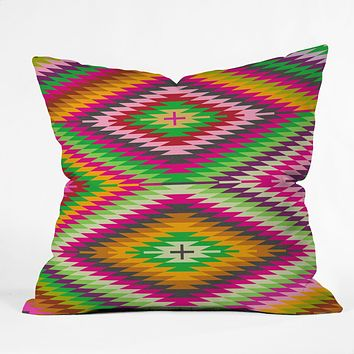 Holli Zollinger Kilimi Multi Throw Pillow